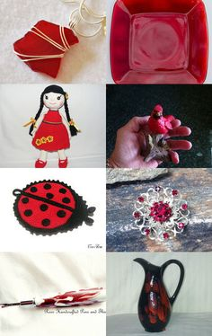 RED BEAUTY  by Nancy on Etsy--Pinned with TreasuryPin.com