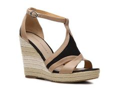 <3 Audrey Brooke Kerry Wedge Sandal Casual Sandals Sandal Shop Women's Shoes - DSW