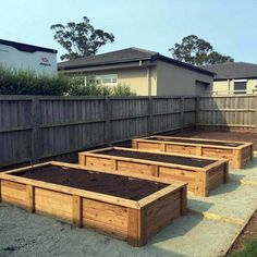 Planting on raised garden beds brings many benefits compared to planting on the ground. But the most crucial one is you can grow a garden even in a Raised Vegetable Gardens, Vegetable Garden Design, Vegetable Gardening, Organic Gardening, Gardening Tips, Garden Boxes, Garden Planters, Garden Box Plans, Planter Beds