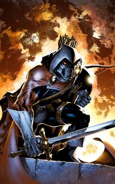 Taskmaster: Taskmaster possesses the ability to mimic the combat skills of anyone he observes. He has used these skills as a teacher to many super villains, henchmen, and even some heroes.