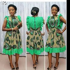"""192 Likes, 5 Comments - Ankara Collections (@ """" African Print Dresses, African Fashion Dresses, African Dress, Ankara Fashion, African Clothes, Ankara Dress, African Inspired Fashion, African Print Fashion, Africa Fashion"""
