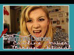 TVD Caroline Forbes Halloween Makeup Tutorial - YouTube