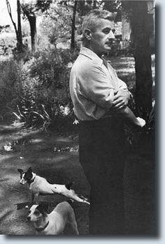 William Faulkner, Oxford, Mississippi, 1947  (Photo by Henri Cartier-Bresson)