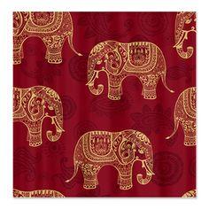Elephant Shower Curtain, Fabric Shower Curtain, Caravan, Hip ...