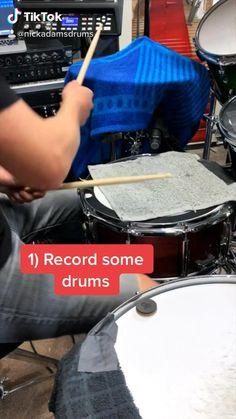 Samba Drums, Drums Studio, Indie Pop Music, Nick Adams, Drum Parts, Drum Patterns, Drums Beats, Drum Music, Best Build