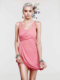 Abbey Lee for Versace + H&M