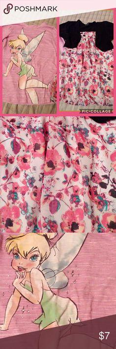 Shirt bundle Two girls tops!  Gently used,  both 7/8 Shirts & Tops