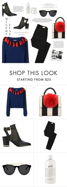 """""""Untitled #273"""" by riennise ❤ liked on Polyvore featuring House of Holland, Les Petits Joueurs, Senso, Paige Denim, Kershaw, Smoke x Mirrors, philosophy, Herbivore and Anja"""