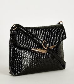 £18. Snake Skin Affect Smart Cross Bag  Key features: - Zipped Inside Pockets - Top Zip Fastener - Adjustable Strap - Back Zipped Pocket Material: - Faux Leather  Approx. Measurements: - Width 27cm - Height13cm - Depth 3cm. #eyebrows #beautiful #fashion #beauty #foundation #nails #makeup #hair #mac #goals #want #facebook #outfitoftheday #chanel #pink #uk #lipstick #kyliejenner #girl #dress #shoes #benefit #cosmetics #fabsquad #outfit #ootd #lookbook #Natsboutique #onlineshop