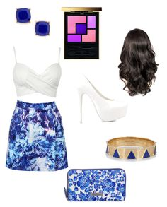 """Blue Rose"" by britill ❤ liked on Polyvore featuring Yves Saint Laurent, Nly Shoes, Brooks Brothers, BP. and Elizabeth and James"