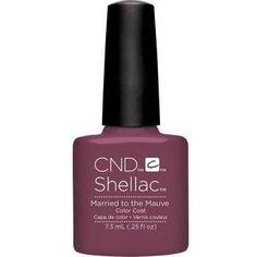 CND Shellac Married to mauve