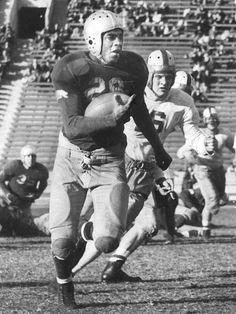 Jackie Robinson was a three-sport star at UCLA, playing football, baseball, and basketball.