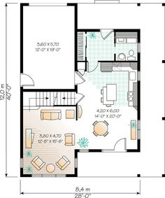 "24'11""    Two or Three Bedrooms - 2163DR 