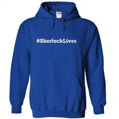 SherlockLives - #shirt collar #shirt pillow. ORDER NOW => https://www.sunfrog.com/LifeStyle/SherlockLives-RoyalBlue-Hoodie.html?68278