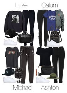 """""""5SOS Styles: NIKE Air Force Low in White"""" by fivesecondsofinspiration ❤ liked on Polyvore featuring NIKE, H&M, Forever 21, Topshop, Frame Denim, Marni, Anastasia Beverly Hills, rag & bone/JEAN, adidas Originals and Billabong"""