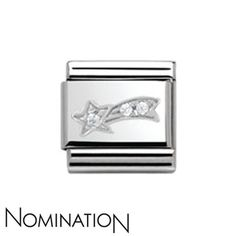 Nomination SilverShine Shooting Star Charm | Argento.co.uk