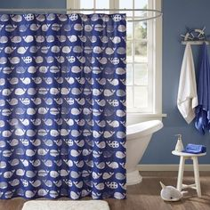 Found it at Joss & Main - Casey Cotton Shower Curtain