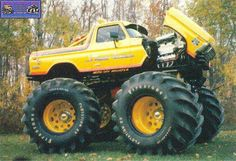 show time Bronco monster truck...where are you now?!?