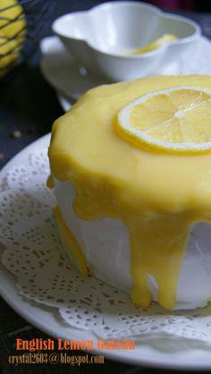 English lemon cake 英式柠檬蛋糕