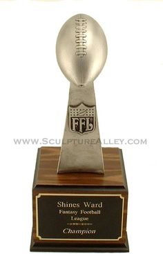 The Vince Silver Fantasy Football Trophy