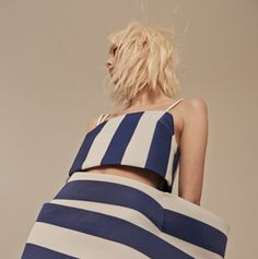 Rollacoaster Magazine #Jacquemus #stripes #pattern