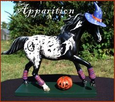 painted ponies halloween | My newest Halloween Pony for 2010 is a bewitched Appaloosa named ...