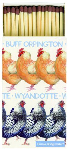 From 4.29 Ihr Emma Bridgewater Extra Long Matches Emma Bridgewater Hens Chickens