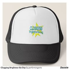 Clogging Brightens the Day Trucker Hat - Fashionable Urban And Outdoor Hunter Farmer Trucker Hats By Creative Talented Graphic Designers - #hats #truckerhats #fashion #design #designer #fashiondesigner #style #trends #bargain #sale #shopping - Trucker Hats are a great way to cheer your team or promote your brand or make a unique fashion statement or simply keep the sun out of your eyes - Customizable trucker hats are the perfect way to look cool and memorable - Trucker Hats can be customized…