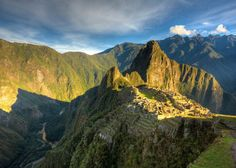 This is a great view of Machu Picchu