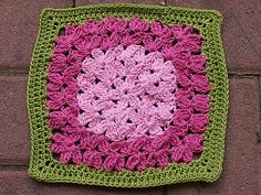 Ravelry: Project Gallery for In Treble Afghan Square pattern by Julie Yeager