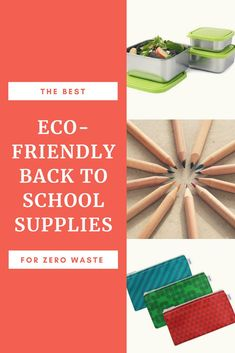 Eco Girl Shop - Find Eco-Friendly Products Online in the USA - eco-friendly back to school supplies plastiic-free zero waste for back to class or college. Sustainable Schools, Sustainable Living, Baby Clothes Storage, Reusable Sandwich Bags, Green School, Green Tips, Girls Shopping, Shopping Lists, Back To School Supplies