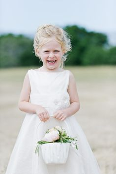 Just look at that smile! http://www.stylemepretty.com/california-weddings/aptos/2015/08/31/rustic-elegant-outdoor-wedding-at-devine-ranch/   Photography: Bluella - http://bluella.com/