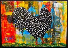 Love Coastwalker's paintings. Love the polka dots.............(m0m)