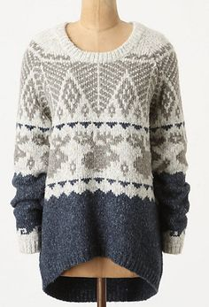 Anthropologie New Brunswick Sweater