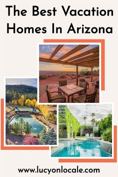 From desert casitas to mountain villas to urban oases, I've got the perfect Arizona vacation home for you! #travel #travelblog #blog #blogger #travelblogger #destination #trip #desert #arizona #southwest #us #unitedstates #vrbo #bestvrbos #vacationhome #vacationhomes #vacationrental #vacationrentals Travel Info, Usa Travel, Travel Advice, Travel Tips, Arizona Travel, Arizona Usa, Packing List For Vacation, Vacation Trips, Arizona Attractions