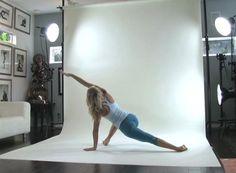 In this video, Shiva Rea shares a beautiful sequence called a Soma Mandala Namaskar, or Moon Salutation.