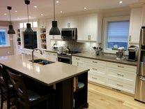 Gorgeous renovation by The Reno Coach in Toronto. Via HomeStars.