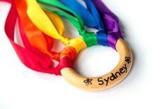 Montessori Toy - Birthday Party Favors - Personalized Toy - Hand Kite - Waldorf…