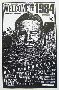 The Dead Kennedys The Butthole Surfers TSOL