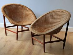 The Ditzel Chair (one left)Woven wicker on a mahogany frameDesigned: Nanna & Jorgen DitzelProduction: L PontoppidanFor Dunbar Furniture USA … Continue reading →