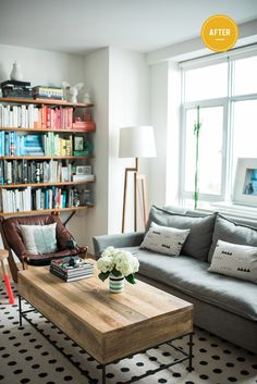 Brooklyn Bride's Vané Broussard gives her living room an easy upgrade | west elm