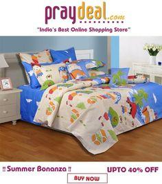 Upto 40% off on Bed Linen - www.praydeal.com