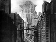 "Tower of Babel from Fritz Lang's silent movie ""Metropolis""."