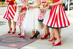 Vintage Americana Chicago Wedding