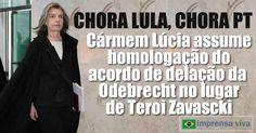 Conforme antecipado aqui no Imprensa Viva na noite de ontem, 19, a presidente do Supremo Tribunal Federal, STF, ministra Cármen Lúcia, a...