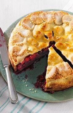 Sommer-Pie+mit+gemischten+Beeren