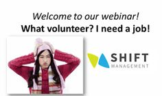 Shift Management - Webinars