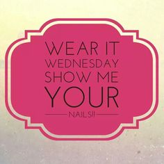 Wear it wednesday To shop/o