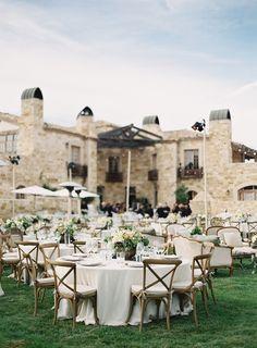 Pink & peach vineyard wedding