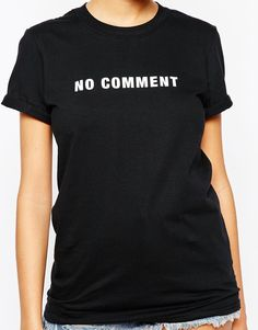 Image 3 of Adolescent Clothing Boyfriend T-Shirt With No Comment Print €26